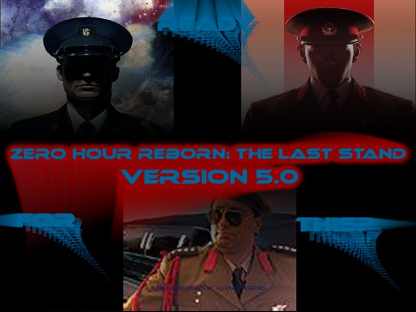 Command & Conquer Generals: Reborn The Last Stand 5.0