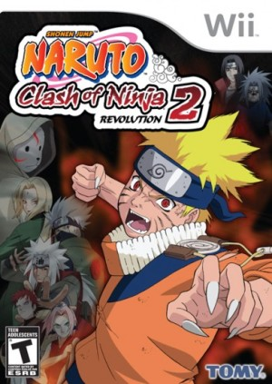 Naruto Clash of Ninja Revolution 2 (2008) (USA)