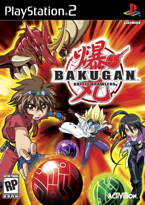 Bakugan Battle Brawlers (2009/PS2/MULTI7/RUS)