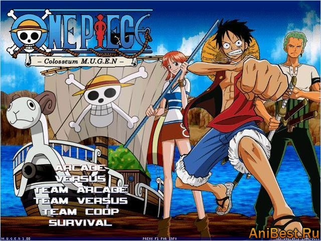 One Piece Colosseum M.U.G.E.N. 2011
